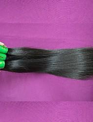 7a cabelo virgem lote 400g extensões de cabelo remy indiano retas indiano tece cor natural pode chagne cores reembolso total
