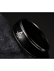316 Stainless Steel Men Ring