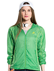 Women Outdoor Sport Skin Jacket Windbreaker Waterproof Sun & UV protection Lightweight Coat
