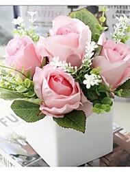 Fleur Artificielle ( Rose , Plastique / Polyester ) Jardin