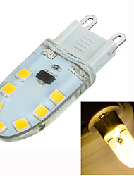 3W G9 Luci LED Bi-pin Modifica per attacco al soffitto 14 SMD 2835 200-300 lm Bianco caldo Intensità regolabile / Decorativo AC 220-240 V