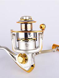 Metal Spinning Reels 4.9:1 11 Ball Bearings Exchangable Sea Fishing / Spinning / Freshwater Fishing-FC6000