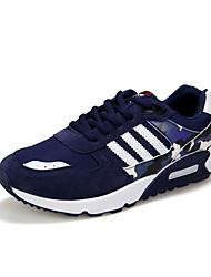 Men's Sneaker Shoes Tulle Black / Blue / Gray