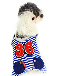 Dog Costume / Hoodie / Outfits Red / Blue Dog Clothes Winter Cosplay / Fashion / Halloween