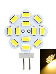 3W G4 LED à Double Broches Encastrée Moderne 12 SMD 5730 200-300 lm Blanc Chaud / Blanc Froid Décorative DC 12 / AC 12 V 1 pièce