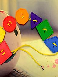buttonl coudre des blocs de construction kit de construction shanped jouets de bricolage