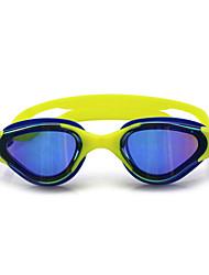 tamanho feiupe®adjustable, impermeável, anti-fog para pêssego unisex luz óculos / preto / azul / azul natação