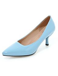 Women's Shoes Patent Leather Stiletto Heel Heels Heels Wedding / Party & Evening / Dress / CasualBlack / Yellow /