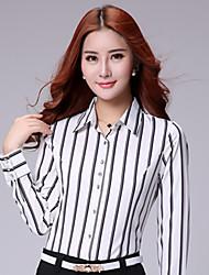 Women's Striped OL Shirt