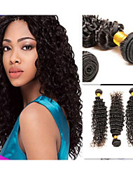 100% Human Hair Extension Brazalian Hair High Quality 1 Bundle 40g Natural Color