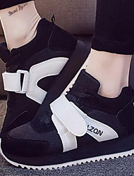 Women's Shoes Color Block Increased Within Grenadine Low Heel Comfort / Round Toe Fashion Sneakers Outdoor / Athletic