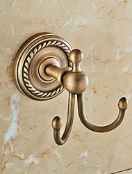 Крючок для халата , Традиционный Античная медь Крепление на стену
