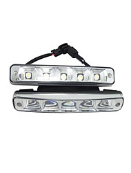 auto e-marchio LED DRL di alta qualità super luminoso LED DRL 5wx2 kit E4 LED DRL