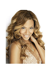Top Quality Blonde Color Synthetic Long Wave Synthetic Wigs