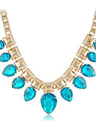 Damen Halskette Hochzeit / Verlobung / Geburtstag / Geschenk / Besondere Anlässe Kristall Legierung / Acryl