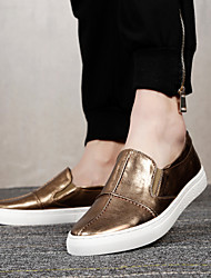 Men's Shoes Amir 2016 New Arrival Hot Sale Office/Casual Black/Gold/Silver Leather Loafers Style Creepers