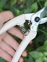 Sellery ciseaux élagueur de jardin avec l'outil de coupe bâton de fruits de poignée blanche
