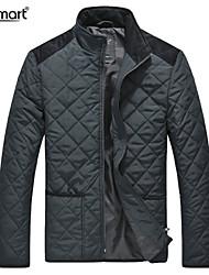 Lesmart Hombre Escote Chino Manga Larga Abajo y abrigos esquimales Azul / Negro / Verde - PX13190