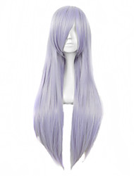 Purple Color Cosplay Synthetic Wigs Cheap Straight Wigs Fashion Wigs