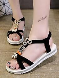 Women's Shoes Bohemian Style Sweet Vintage Flat Heel Comfort Sandals Dress