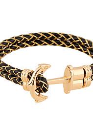 Bracelet - en Cuir - Vintage / Soirée / Travail / Décontracté - Cuir