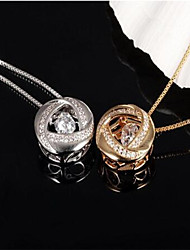 Vintage / Party / Work / Casual Alloy Pendant Necklace