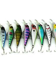 """8pcs pcs kleiner Fisch Zufällige Farben 11.8g g/7/16 Unze,100 mm/4"""" Zoll,Fester KunststoffSeefischerei / Fischen im Süßwasser / Angeln"""