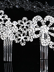 The New Combs Korean Rhinestones Bride Headdress The European And American Fashion Jewelry