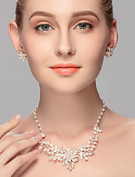 Women's Pearl Jewelry Set Imitation Pearl