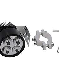 20W LED Spot Light Headlight for 12V-85V Motorcycle Automobile Spigot Holder