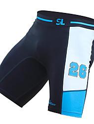 Ultraviolet Resistant Swimming Pants for Men Elastane/Tactel Blue