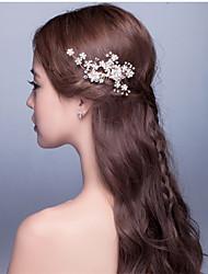 Strass / aleta flor handmade headpiece - casamento / ocasião especial headbands 1 peça de venda
