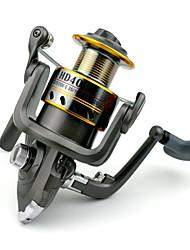 7 BB Spinning Reels Gear Ratio 5.2:1 Metal Spinning Fishing Reel HD40 Random Colors