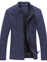 Spring 2016 new men's jacket youth men's casual coat collar Korean thin coat male spring tide