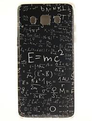 fórmula padrão de caixa do telefone de material TPU matemática para Samsung Galaxy G530 / G360 / g7106 / g357 / J7 / J5 / j710 / J510