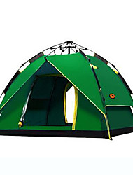 SHAMOCAMEL Ultraviolet Resistant / Windproof Polyester One Room Tent Blue / Dark Green / Light Green / Orange