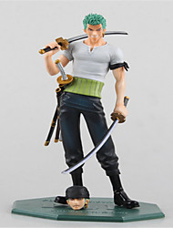 One Piece 10 Anniversary of Zoro POP Edition Anime Action Figures Doll Toy