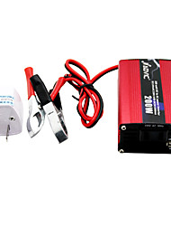 NAOVIC 12V TO 220V 200W  Car Power Inverter USB Solar Battery Charger