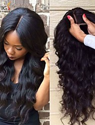 Joywigs Unprocessed Brazilian Human Hair Wigs Lace Front Wigs Body Wave Virgin Hair with Baby Hair for Black Women
