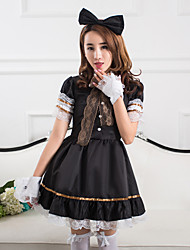 robe cosplay parti lolita serviteur de fille de bar coffe