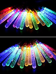 King Ro 40LED Battery Operated Water Bubble Stick String Lights For Homes, Wedding, Christmas Party, Waterproof