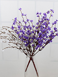 High Quality Wintersweet Flower Silk Flower Artificial Flowers for Home Decoration Flower Kit1pc/set