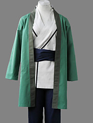 Inspired by Naruto Tsunade Anime Cosplay Costumes Cosplay Suits Patchwork Green Kimono Coat / Vest / Pants / Belt