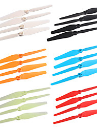 6Colors/8PCS  Blades Propellers Spare Parts for Syma X8C  X8W X8G RC Quadcopter Drone