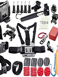 Gopro AccessoriesFront Mounting / Anti-Fog Insert / Monopod / Screw / Buoy / Adhesive Mounts / Straps / Wrist Strap / Clip / Mount/Holder