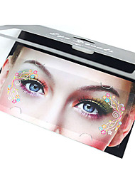 1Pcs Dance Sexy Queen Temporary  Eye Decals Beuty Is Very Simple
