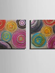 Mini pintura al óleo de tamaño de correo hogar patrones abstractos modernos pura mano dibujan pintura decorativa sin marco