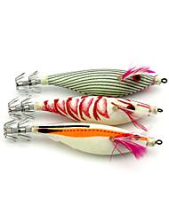 "3pcs pcs Señuelos duros Colores Aleatorios 9.8g g/03.01 Onza,100 mm/4"" pulgada,Plástico duroPesca de Mar / Pesca de baitcasting / Pesca"