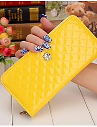 European and American luxury handbag zipper  pattern new 2016 explosion female wallet plum Satchel