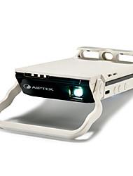 Завод-производитель комплектного оборудования B6P DLP Мини-проектор WVGA (800x480) 70 Lumens Светодиодная лампа 4:3